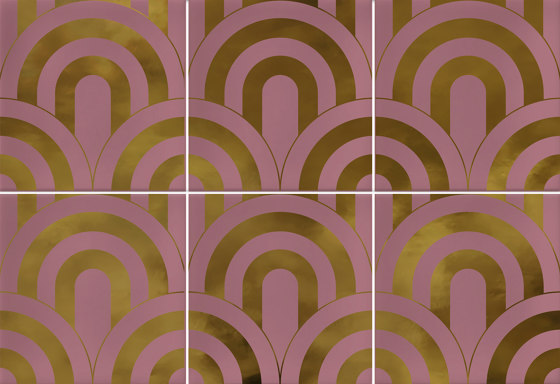 Hanami | Takada Marsala Oro by VIVES Cerámica | Ceramic tiles