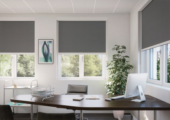 Dim-Out Blind System SG 4710 by Silent Gliss | Dim-out blinds