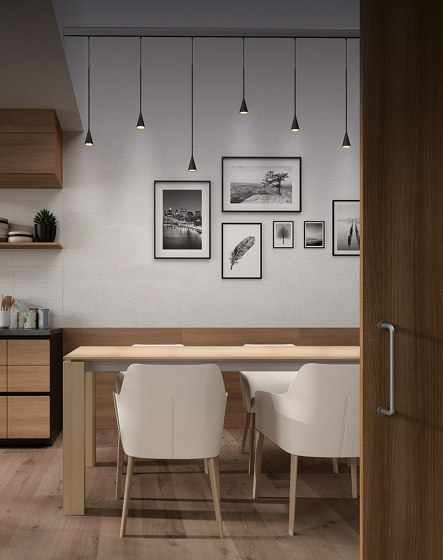 Skybell Linear S/7L/20 by BOVER | Suspended lights
