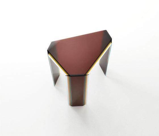 Bisel | Low Table de Glas Italia | Mesas auxiliares