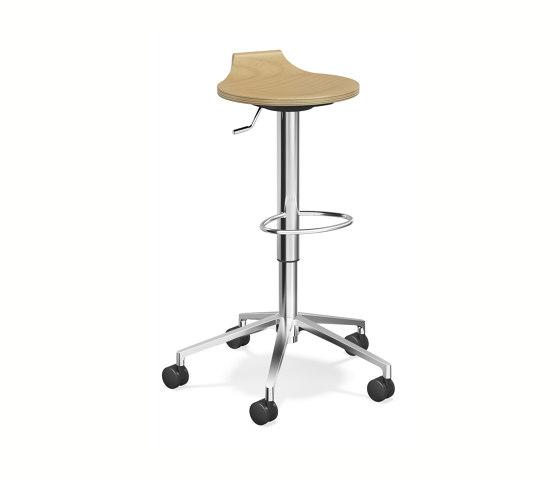 Ravelle V by Casala | Swivel stools