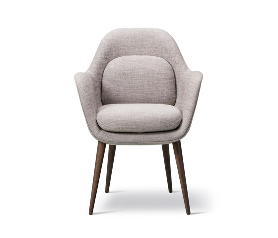 Swoon Chair Wood Base by Fredericia Furniture   Chairs