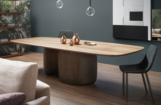 Mellow by Bonaldo | Dining tables