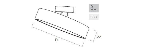 Basic Déco Z3 de Lightnet | Plafonniers