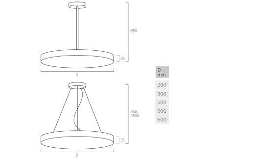 Basic Neo G5/P5 de Lightnet | Suspensions