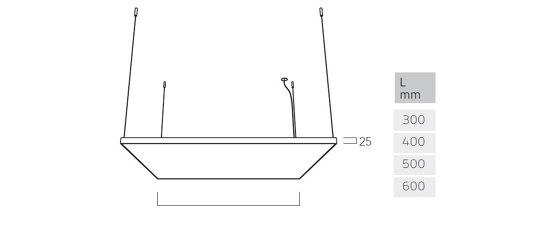 Cubic Evolution G6/P6 de Lightnet | Suspensions