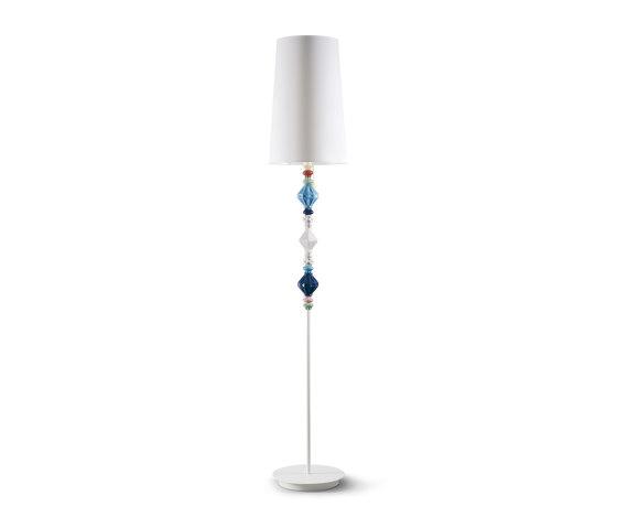 Belle de Nuit Floor Lamp II | Multicolor (CE) de Lladró | Luminaires sur pied