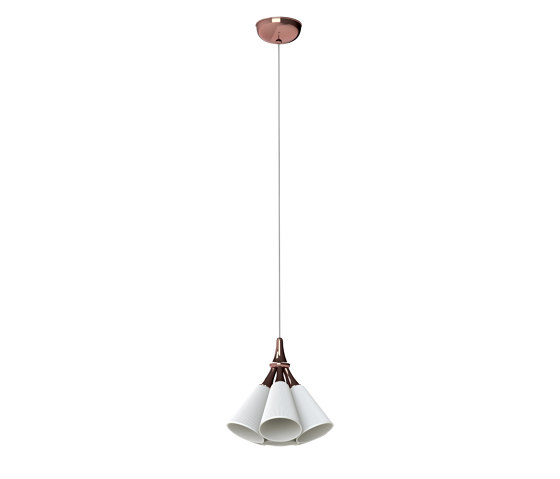 Jamz Hanging Lamp | Copper (CE/UK) by Lladró | Suspended lights