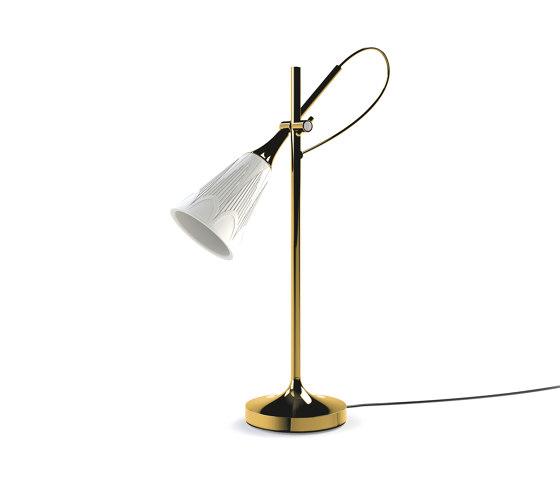 Jamz Reading Lamp | Gold (CE) de Lladró | Luminaires de table