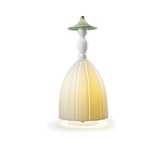 Mademoiselle Daniela | Table Lamp (CE) de Lladró | Luminaires de table