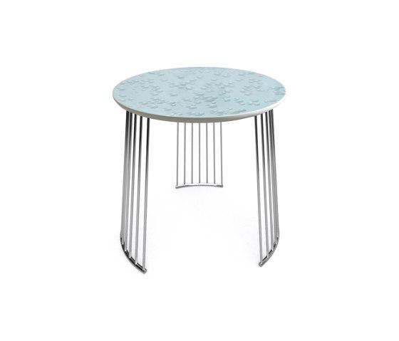 Moments Crystal Table | Chrome Metal di Lladró | Tavolini alti