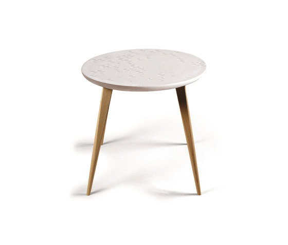 Moments Frost Table | Oak de Lladró | Tables d'appoint