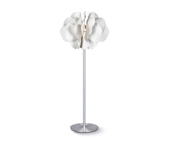 Nightbloom Floor Lamp   White (CE) de Lladró   Luminaires sur pied