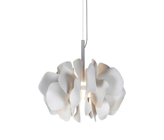 Nightbloom Hanging Lamp 40cm | White (CE/UK) by Lladró | Suspended lights