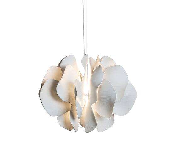 Nightbloom Hanging Lamp 60cm | White (CE/UK) by Lladró | Suspended lights