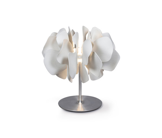 Nightbloom Table Lamp | White (CE) de Lladró | Luminaires de table