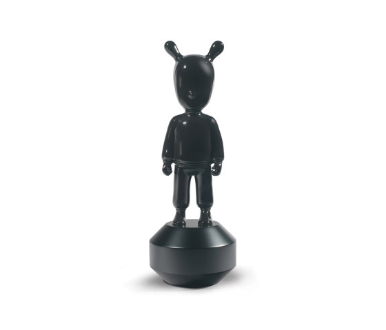 The Guest Black Figurine | Small Model by Lladró | Objects