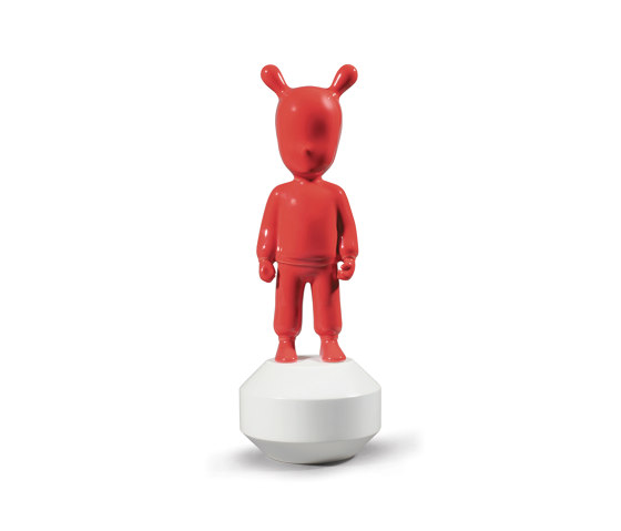 The Guest Red Figurine | Small Model by Lladró | Objects
