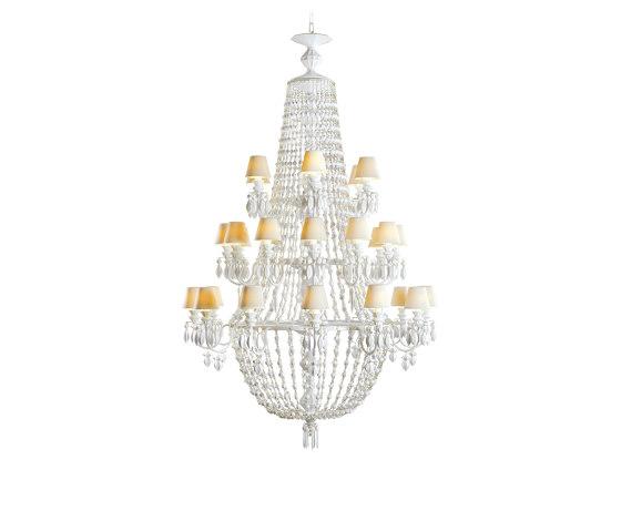 Winter Palace 30 Lights Chandelier | White (CE/UK) de Lladró | Chandeliers
