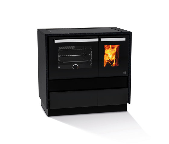 Dachstein Modern by Lohberger | Wood fired stoves
