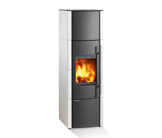 Lobo H2O | Emaille Weiss by Lohberger | Stoves