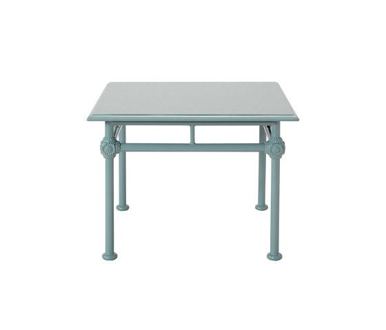 1800 | Tavolo basso quadrato di Tectona | Tavolini alti