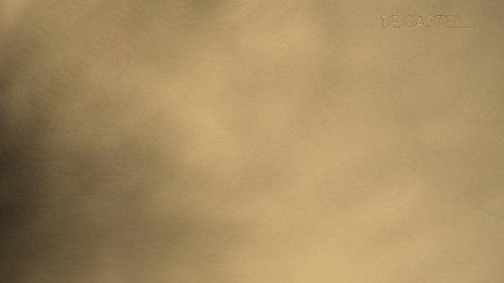 Brushed brass by De Castelli | Sheets