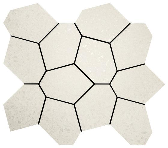 Alaska Ice Polygon Mosaics by Crossville | Ceramic mosaics