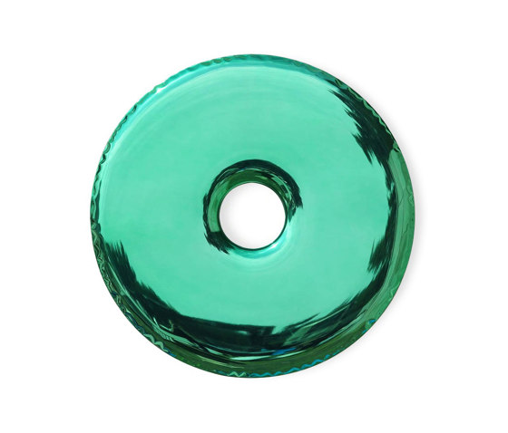 Rondo Mirror Gradient Emerald by Zieta | Mirrors