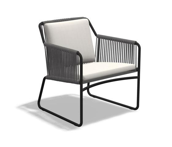 HARP 768 Lounge Chair de Roda | Sillas