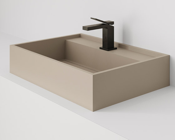 Hydra 60x43 Silk Camel Natural by INALCO | Wash basins