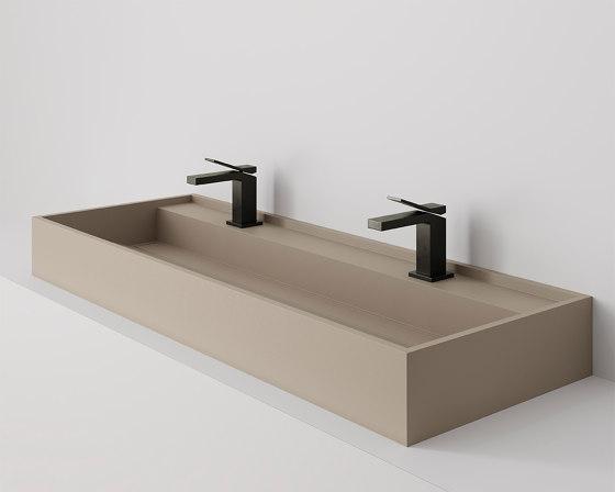 Hydra 117x43 Silk Camel Natural by INALCO | Wash basins