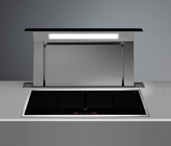 Design   Down Draft 90cm Black Exhausting by Falmec   Kitchen hoods