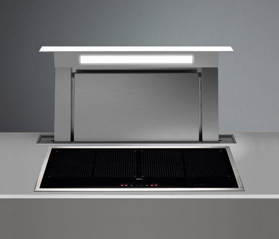 Design | Down Draft 90cm White Re-circulating by Falmec | Kitchen hoods