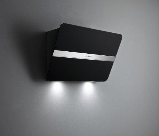 Design | Flipper Wall 85cm Satin Black by Falmec | Kitchen hoods