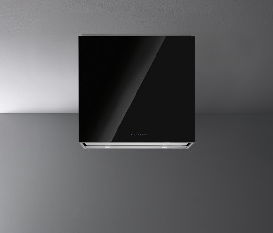 Design | Laguna Island 60cm Black by Falmec | Kitchen hoods
