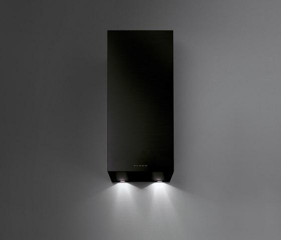 Design | Mira Wall Black by Falmec | Kitchen hoods