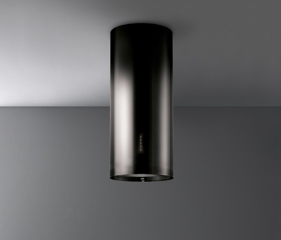 Design | Polar Black Island by Falmec | Kitchen hoods
