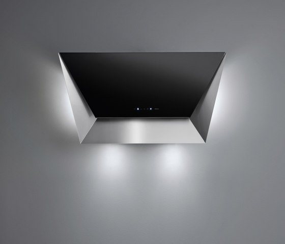 Design | Prisma Wall 85cm Black by Falmec | Kitchen hoods