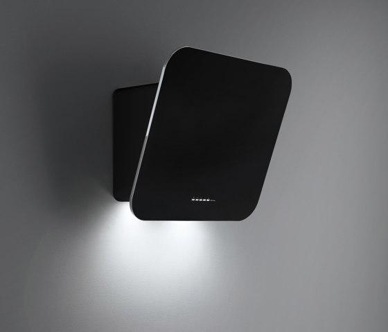 Design | Tab 80cm Black by Falmec | Kitchen hoods