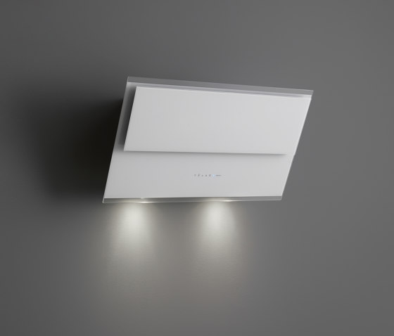 Design   Verso 55cm White by Falmec   Kitchen hoods