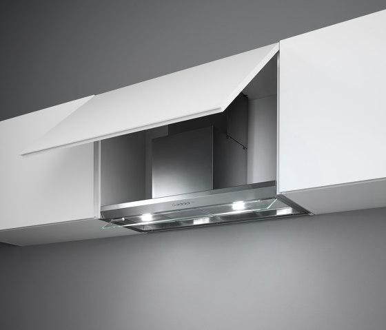 Design | Virgola 60cm Steel by Falmec | Kitchen hoods