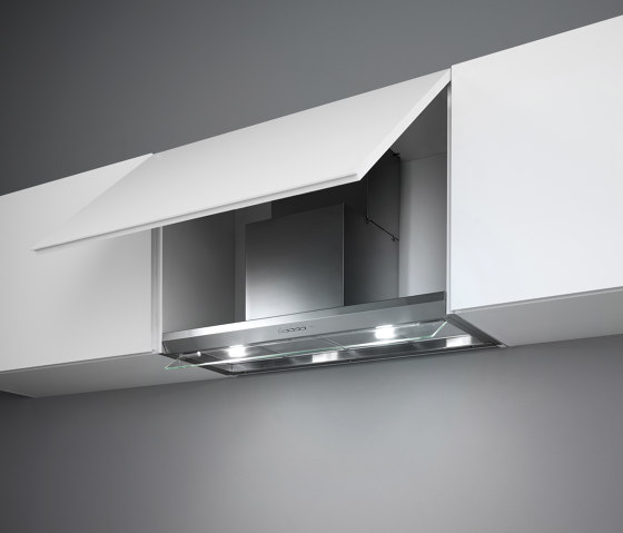 Design   Virgola 120cm Steel by Falmec   Kitchen hoods
