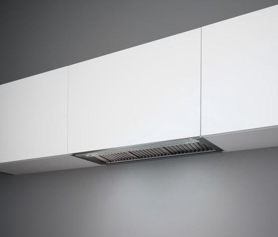Design | Virgola No-Drop 120cm by Falmec | Kitchen hoods