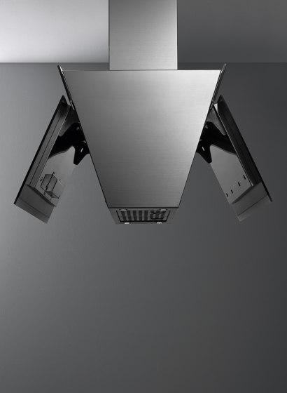 Design | Butterfly Island Black by Falmec | Kitchen hoods