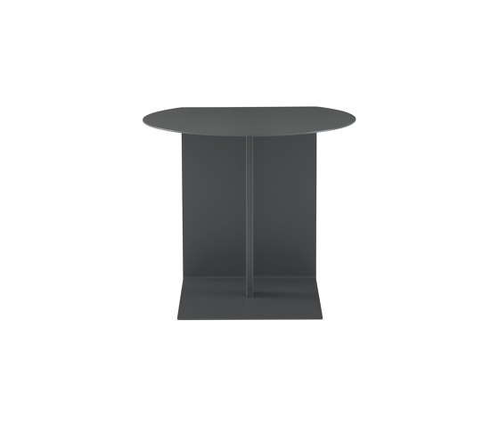 Oda   Occasional Table Anthracite Lacquer by Ligne Roset   Side tables