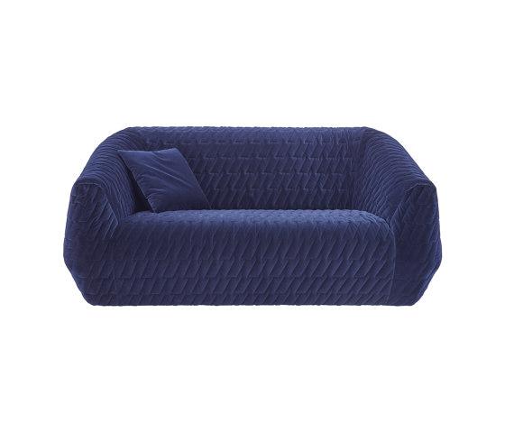 Uncover | Gran Sofa 2 Plazas Version A – Motivo Cosido de Ligne Roset | Sofás