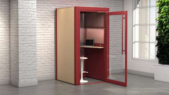Tek Booth by Teknion | Telephone booths