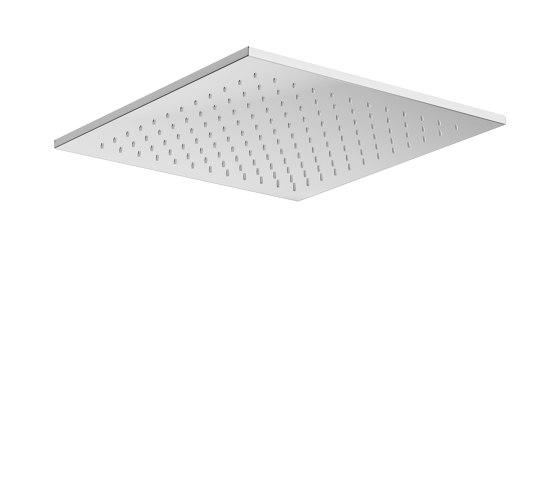 FAUCETS | Rain shower head 450 x 450 mm | Chrome by Armani Roca | Shower controls