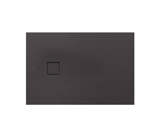 SHOWER TRAYS | XS superslim shower tray with side waste | Dark Metallic by Armani Roca | Shower trays